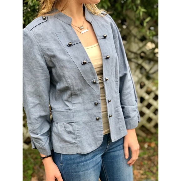 Chico's Jackets & Blazers - Chico's Shimmer Jacket
